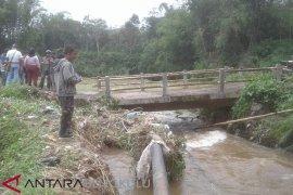Rejang Lebong data infrastruktur rusak akibat banjir