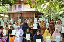 BPN targetkan 75.000 sertifikat tanah di Balangan