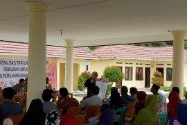 Warga Pulau Tunda antusias ikuti sosialisasi KPU