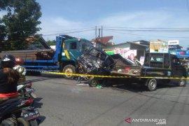 Kasatlantas: Akibat rem blong terjadi kecelakaan lalu lintas beruntun