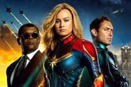 """Belum Ada Yang Tandingi Film """"Captain Marvel"""" di Bioskop"""