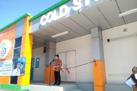 """Bupati Bangka Tengah resmikan """"cold storage"""" berkapasitas 30 ton"""