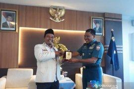 Perkuat sinergitas, Pemuda Muhammadiyah silaturahim dengan Danlantamal I Belawan