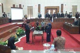 DPRD Bangka Barat lantik anggota pengganti antarwaktu