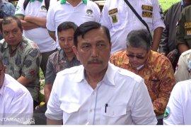 Menko Kemaritiman sebut Presiden Jokowi gencar bangun infrastruktur