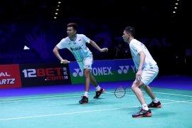 Fajar/Rian gagal jumpa Hendra/Ahsan di final All England