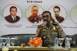 Polda: belum ada informasi warga Maluku korban penembakan
