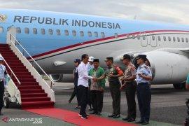 "Presiden Jokowi mengingatkan penerapan ""gas dan rem"" di Jawa Barat"