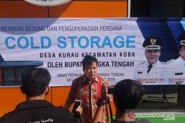 """Bupati Bangka Tengah: """"cold storage"""" solusi untuk menstabilkan harga ikan"""