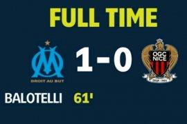 Balotelli cetak gol ke mantan timnya OGC Nice, antar Merseille raih kemenangan