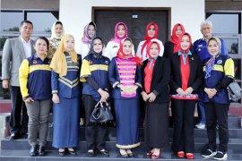 Yustin Lantik Ellya Lusiana Ketum PDBI Lampung Tengah