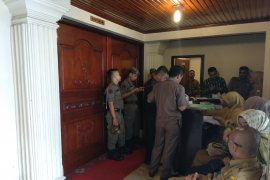 Rapat evaluasi program pencegahan korupsi oleh KPK di Jambi digelar tertutup