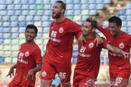 Sempat tertinggal, Persija bangkit tundukkan Shan United 3-1
