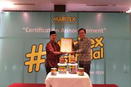 Maritex, cat dengan sertifikat halal MUI