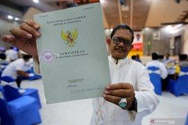 Pemberian sertifikat tanah wakaf dipercepat oleh pemerintah