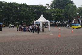 Polda Banten simulasi sistem pengamanan kota jelang pemilu