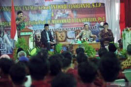 Panglima TNI - Kapolri orasi kebangsaan di UMSB
