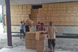 KPU Langkat terima 504 kotak logistik pemilu