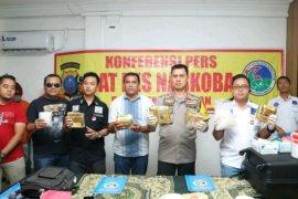 Polrestabes Medan gagalkan peredaran sembilan kilogram sabu