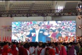 Jokowi hadiri deklarasi Relawan Blusukan Sumatera Utara