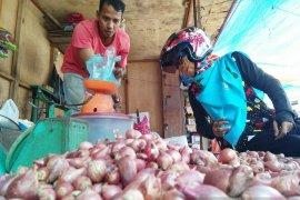 Harga bawang merah naik Rp10.000/kg