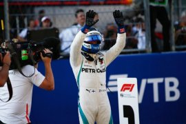 Valtteri Bottas juarai GP Australia setelah pecundangi Hamilton