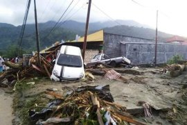 Banjir Bandang Sebabkan 206 Orang Hilang