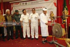Bupati Bangli buka Muskab ke-VI PPI Kabupaten Bangli