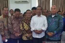 Presiden Jokowi terima laporan dari Altra
