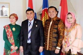 Sjahroedin dan Ridho Ficardo Promosikan Lampung di Kroasia