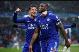 Leicester City sukses raih kemenangan 2-1 di kandang Burnley