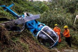 Empat korban helikopter jatuh di Tasikmalaya mulai membaik