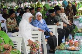 Khofifah minta Muslimat NU ikut bantu hentikan ujaran kebencian
