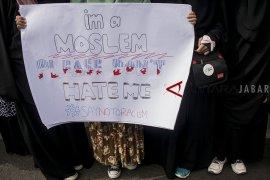 Aksi protes tindakan terorisme Selandia Baru