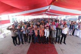 Ratusan nelayan Pemangkat deklarasi pemilu damai