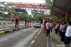 Tol Tangerang-Merak laksanakan simulasi transaksi tanpa henti