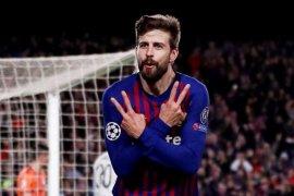 Gerard Pique menyebut kekayaannya lebih besar dibandingkan Espanyol