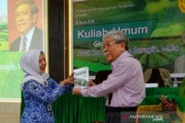 Prof Dr Bungaran Saragih beri kuliah umum di Polbangtan Medan