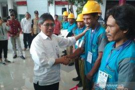 Kementerian PUPR serahkan sertifikat kompetensi kepada 3.000 pekerja konstruksi