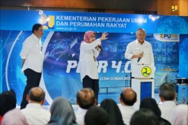 Menteri PUPR sebut pembangunan infrastruktur masih prioritas ke depannya