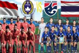 Pratinjau - Indonesia vs Thailand, adu skuat baru setelah AFF