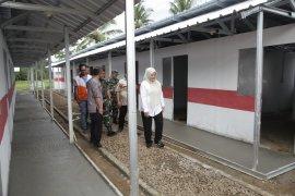Sebanyak 400 huntara untuk korban tsunami siap dihuni