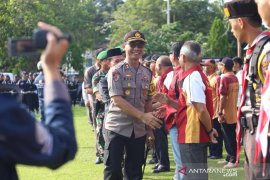 Kapolres Bangka: 680 pasukan TNI-Polri siap amankan pemilu