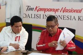 TKN Jokowi-Ma'ruf memulai kampanye terbuka dari Banten
