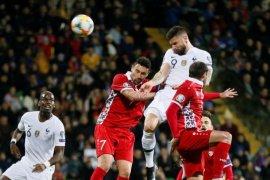 Prancis menang 4-1 atas Moldova di pembukaan Kualifikasi Piala Eropa