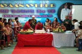 Bupati - Wabup hadiri perayaan syukur HUT ke-73 Uskup Sanggau