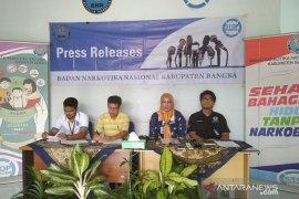 BNNK Bangka komitmen laksanakan Inpres Nomor 6 Tahun 2018