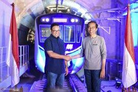 Jokowi ingin jalur MRT terbangun di Jakarta dan sekitarnya