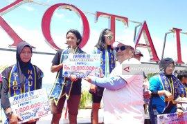 Atlet asal Surabaya juara triathlon Hari Jadi Sibolga ke-319