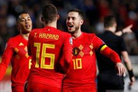 Hazard Cetak Gol, Belgia Kalahkan Siprus